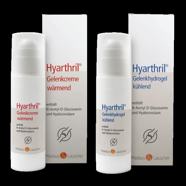 Hyarthril Gelenkeinreibungen für strapazierte Gelenke